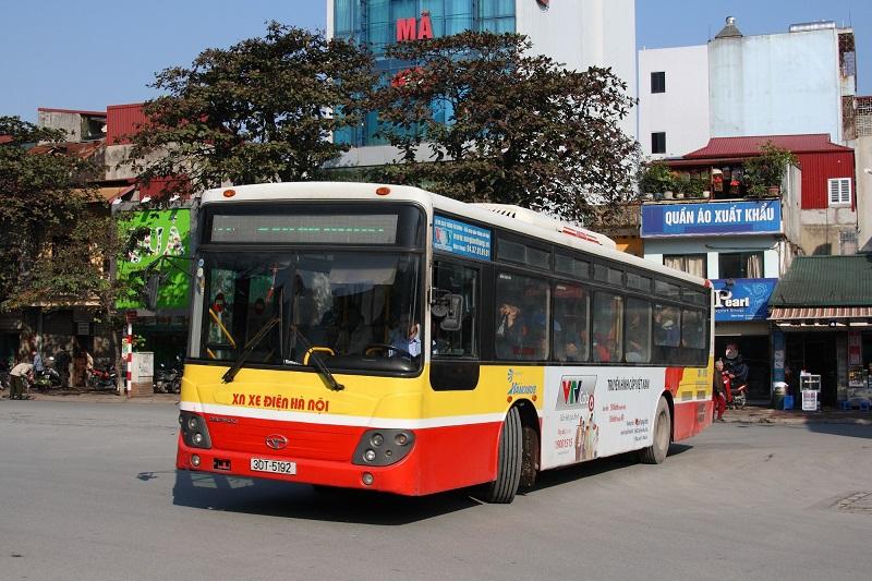 lộ trình các tuyến xe buýt