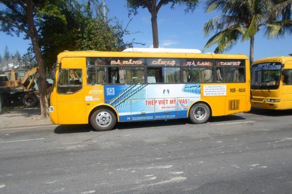 quảng cáo xe buýt tại đà nẵng