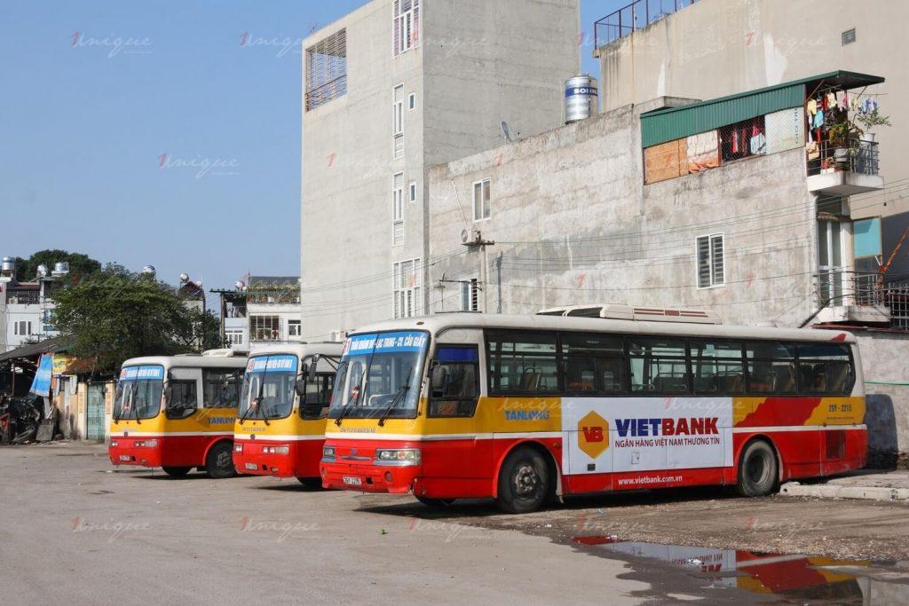 quảng cáo xe buýt tại nam định