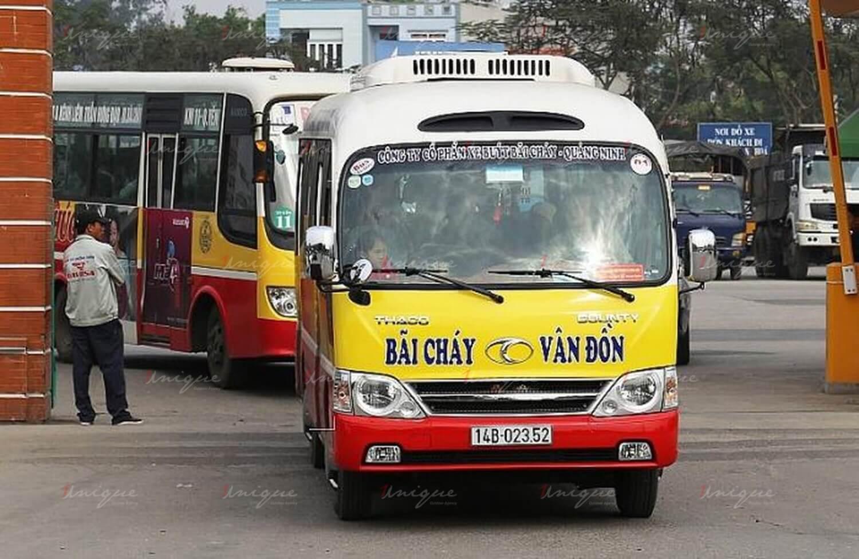 quảng cáo xe buýt tại quảng ninh