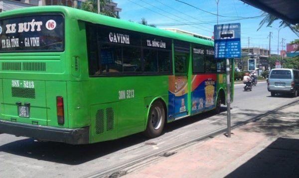quảng cáo trên xe buýt tại hà tĩnh