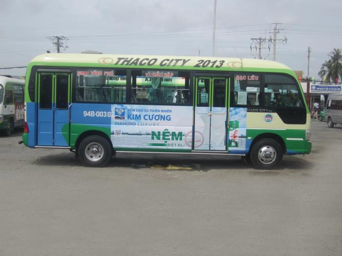 quảng cáo xe buýt tại bạc liêu