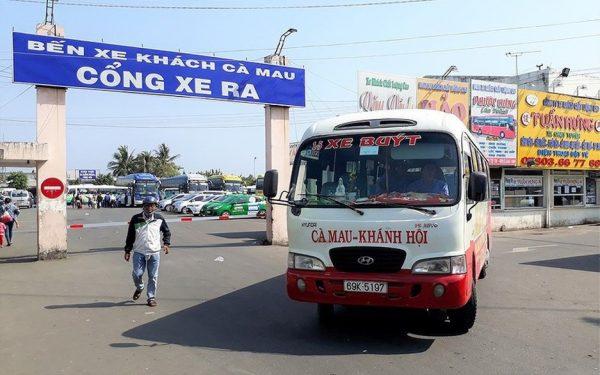 quảng cáo xe buýt tại cà mau