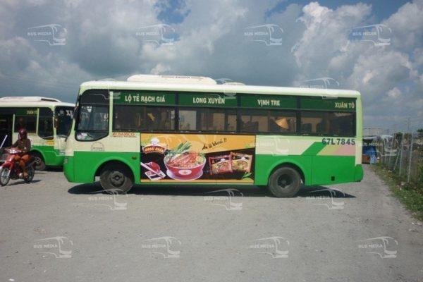 quảng cáo xe buýt tại an giang