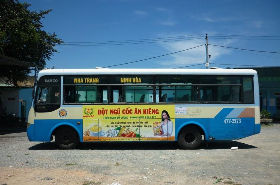 quảng cáo xe buýt tại đak lak