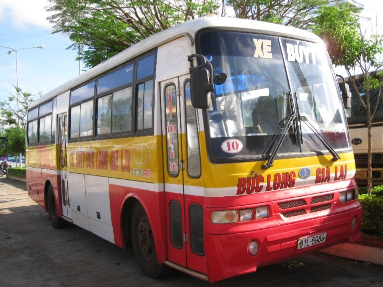 quảng cáo xe buýt tại gia lai