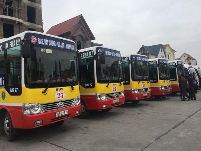 quảng cáo xe buýt tại hải dương