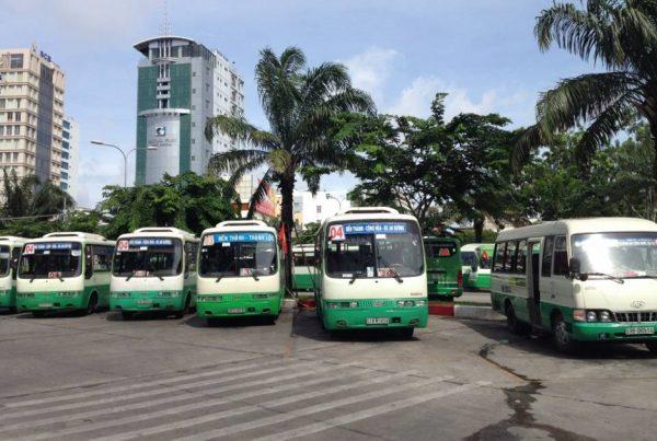 quảng cáo xe buýt tại hậu giang