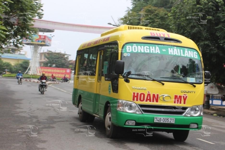 quảng cáo xe buýt tại quảng trị