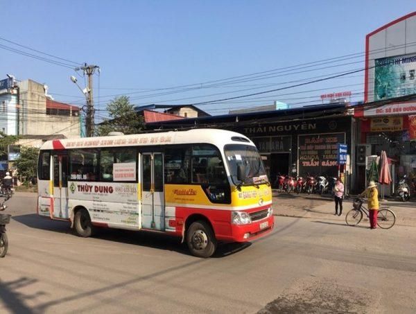 quảng cáo xe buýt tại thái nguyên