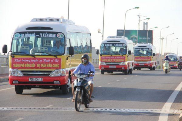 quảng cáo xe buýt tại quảng bình