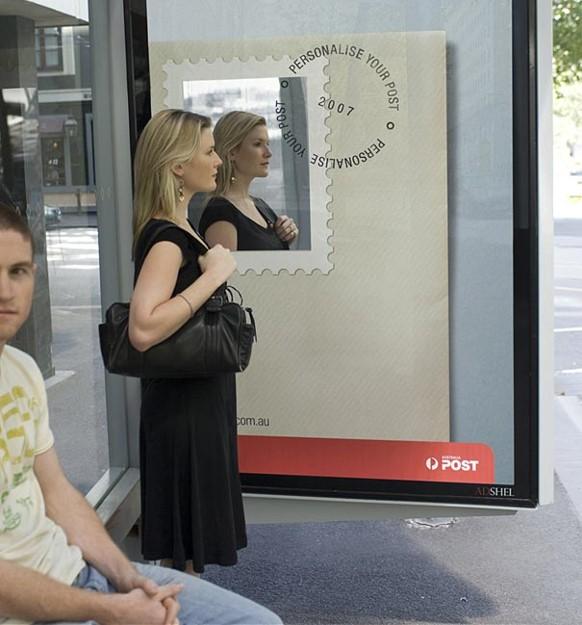 ý tưởng quảng cáo trạm xe buýt