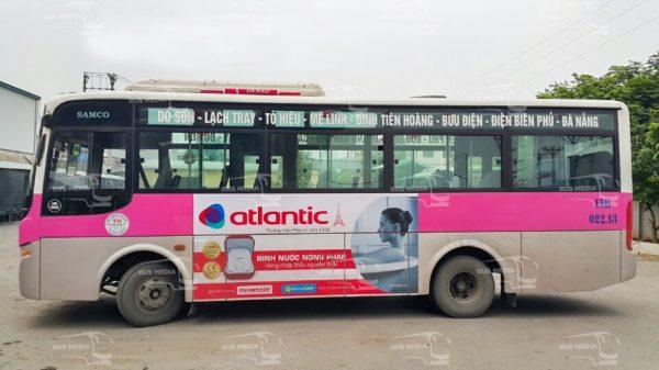 báo giá quảng cáo xe buýt hải phòng