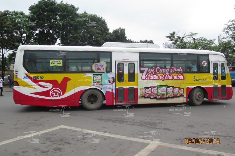 dịch vụ quảng cáo xe buýt