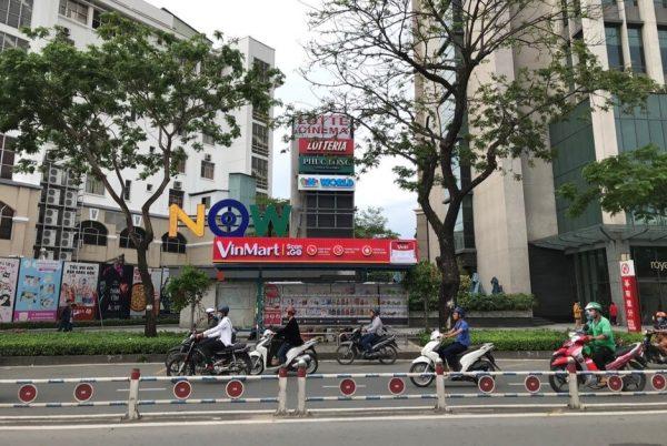 quảng cáo nhà chờ xe buýt cho scan & go