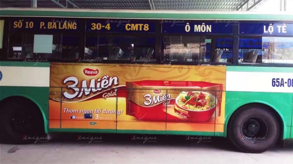 báo giá quảng cáo xe buýt cần thơ