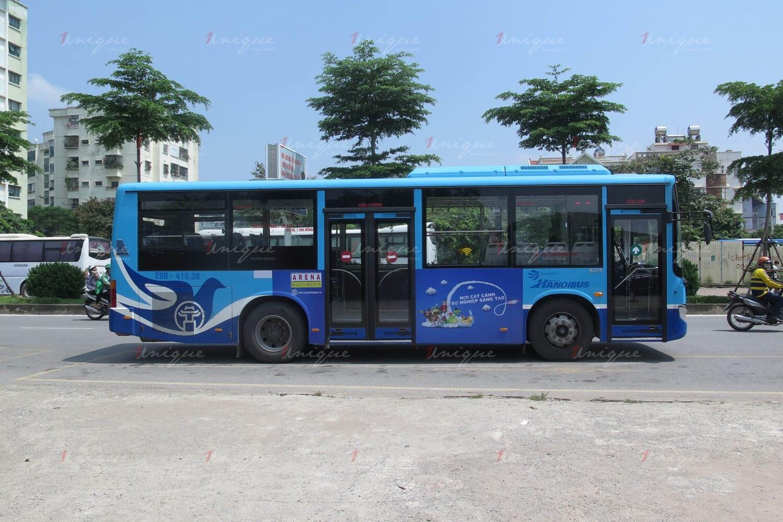 đo lường hiệu quả của quảng cáo trên xe buýt