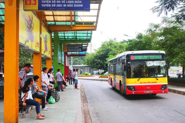 hà nội xây 300 nhà chờ xe buýt mới