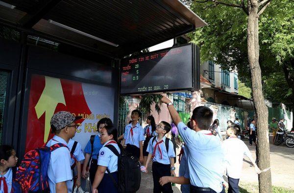 nhà chờ xe buýt tphcm