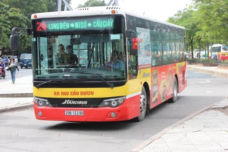 thị trường xe buýt ngày giáp tết