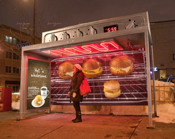 Những hình thức quảng cáo nhà chờ xe buýt độc đáo và ấn tượng nhất