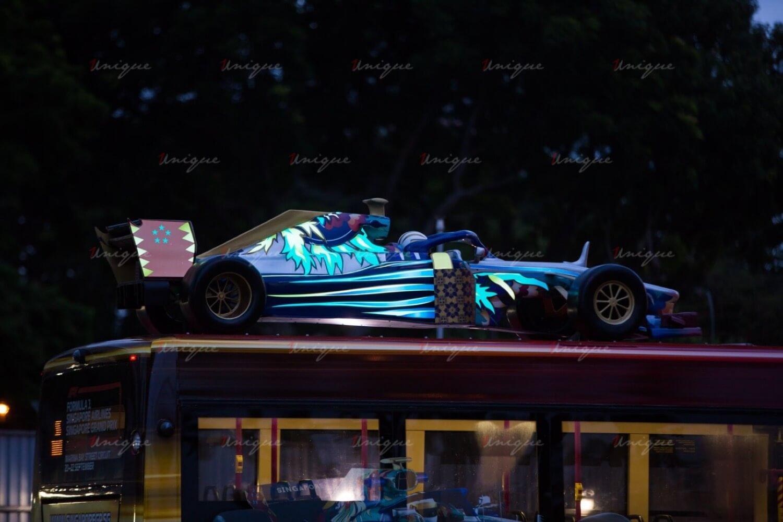 Chiến dịch quảng cáo Luxury Roadshow của Singapore Grand Prix