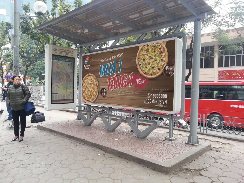 Lưu ý khi triển khai quảng cáo nhà chờ xe buýt