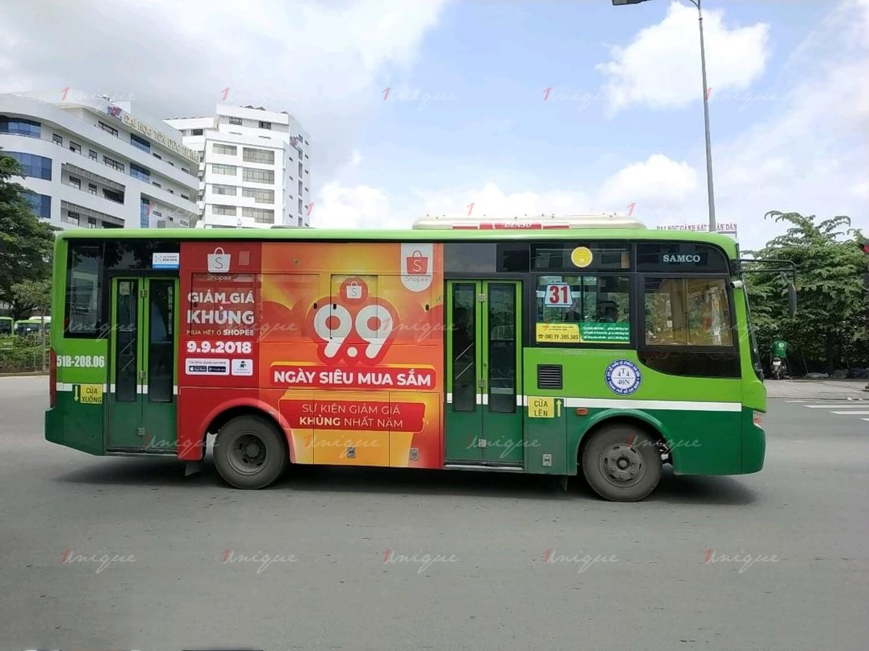 lưu ý khi triển khai quảng cáo trên xe buýt