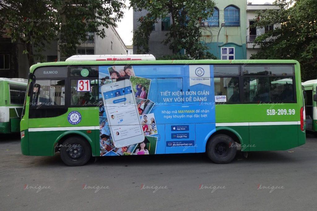 quảng cáo xe buýt là gì