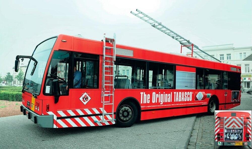 quảng cáo xe buýt sáng tạo