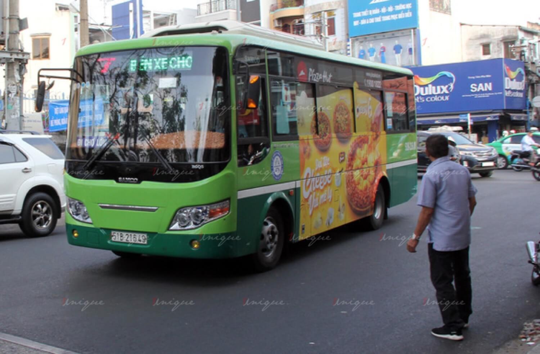 Triển khai quảng cáo trên xe buýt bao nhiêu và bao lâu