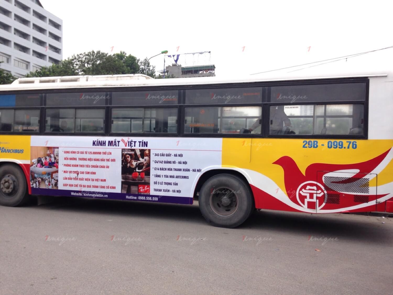 Sai lầm khi triển khai quảng cáo trên xe buýt