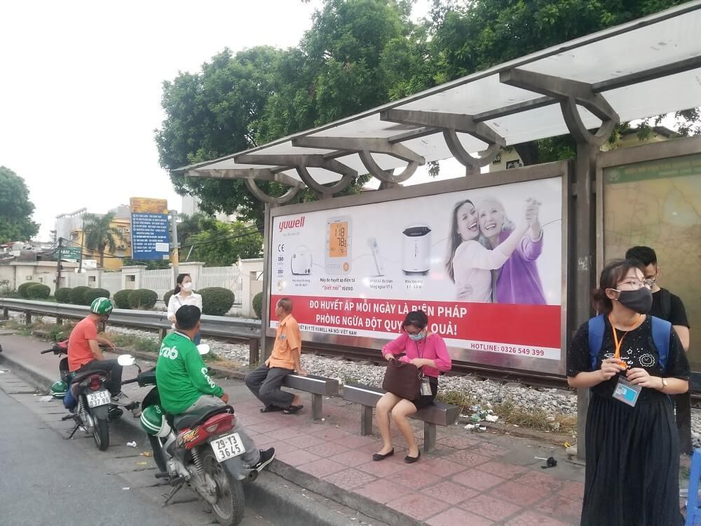 Chiến dịch quảng cáo xe buýt của Thiết bị y tế Yuwell