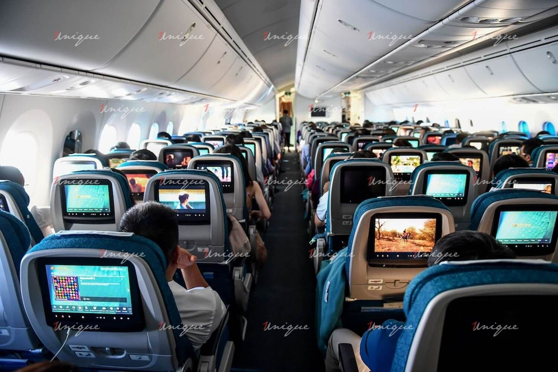 quảng cáo trên máy bay
